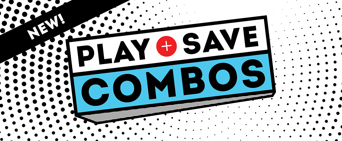 play and save combos
