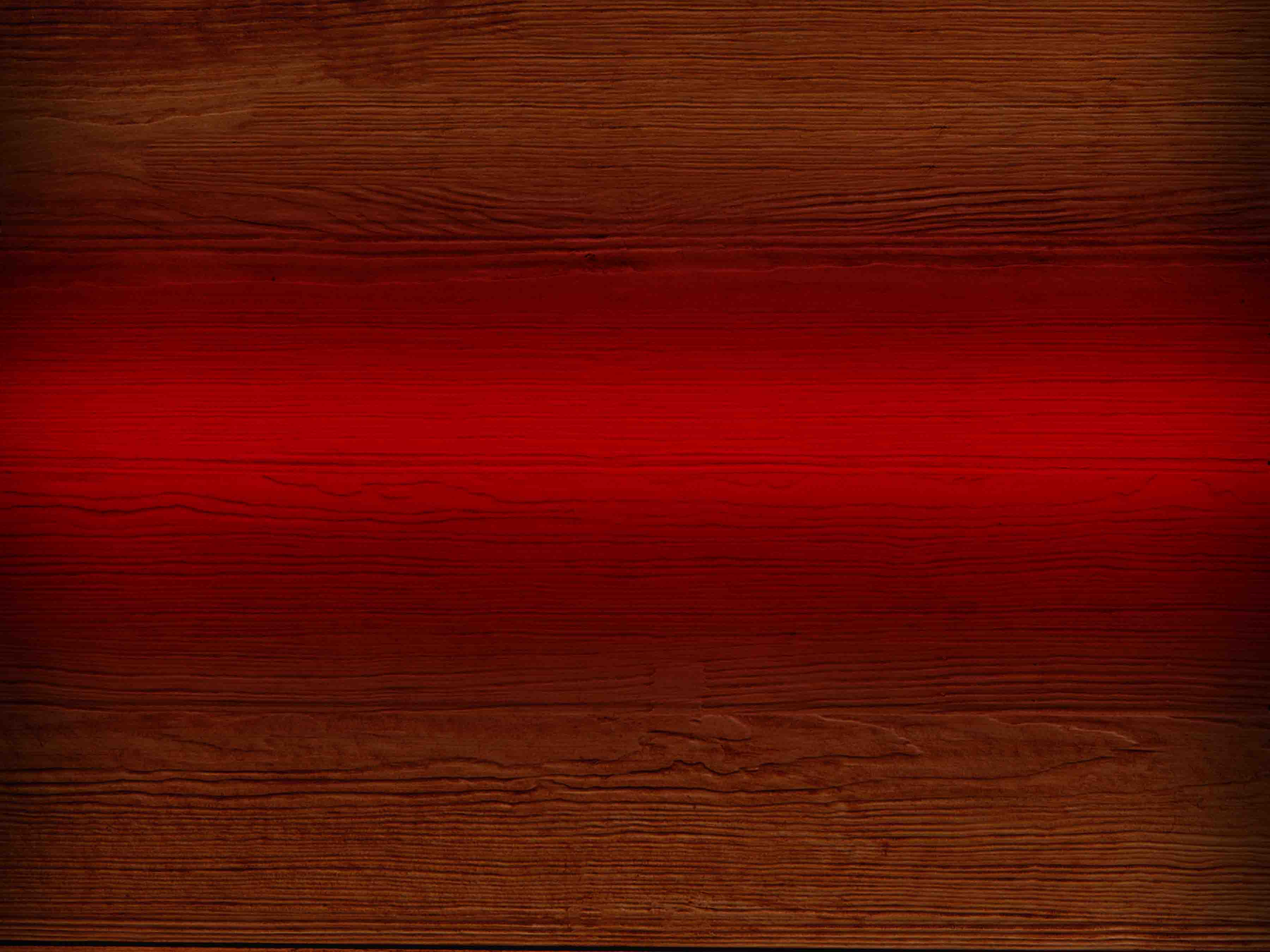 Wood background with red