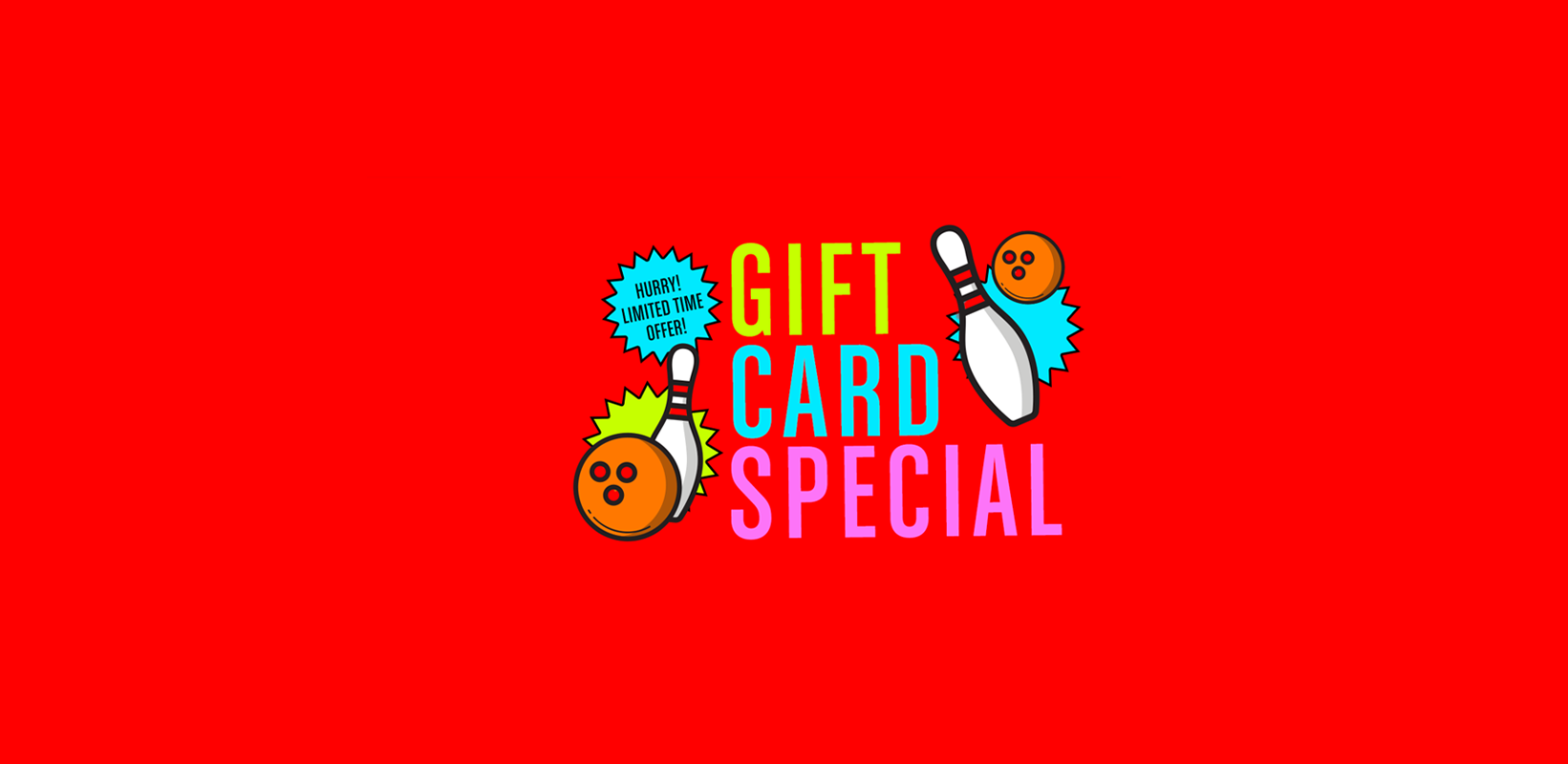 gift card special banner