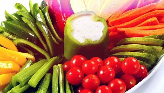 Fresh Vegetable Crudites