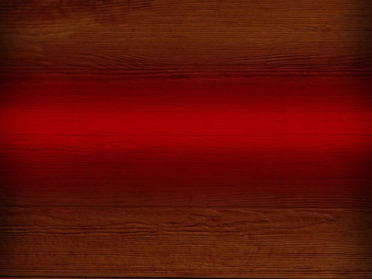 Wood with red hue