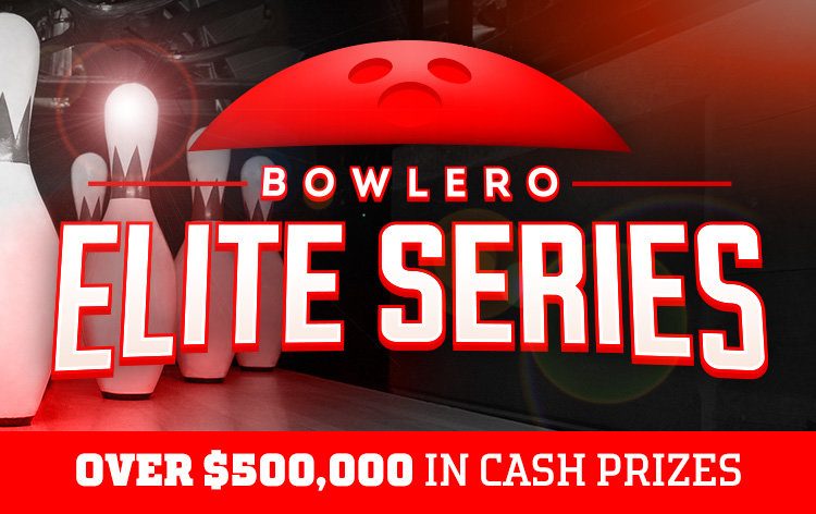 text: bowlero elite series over $500,000 in cash prizes