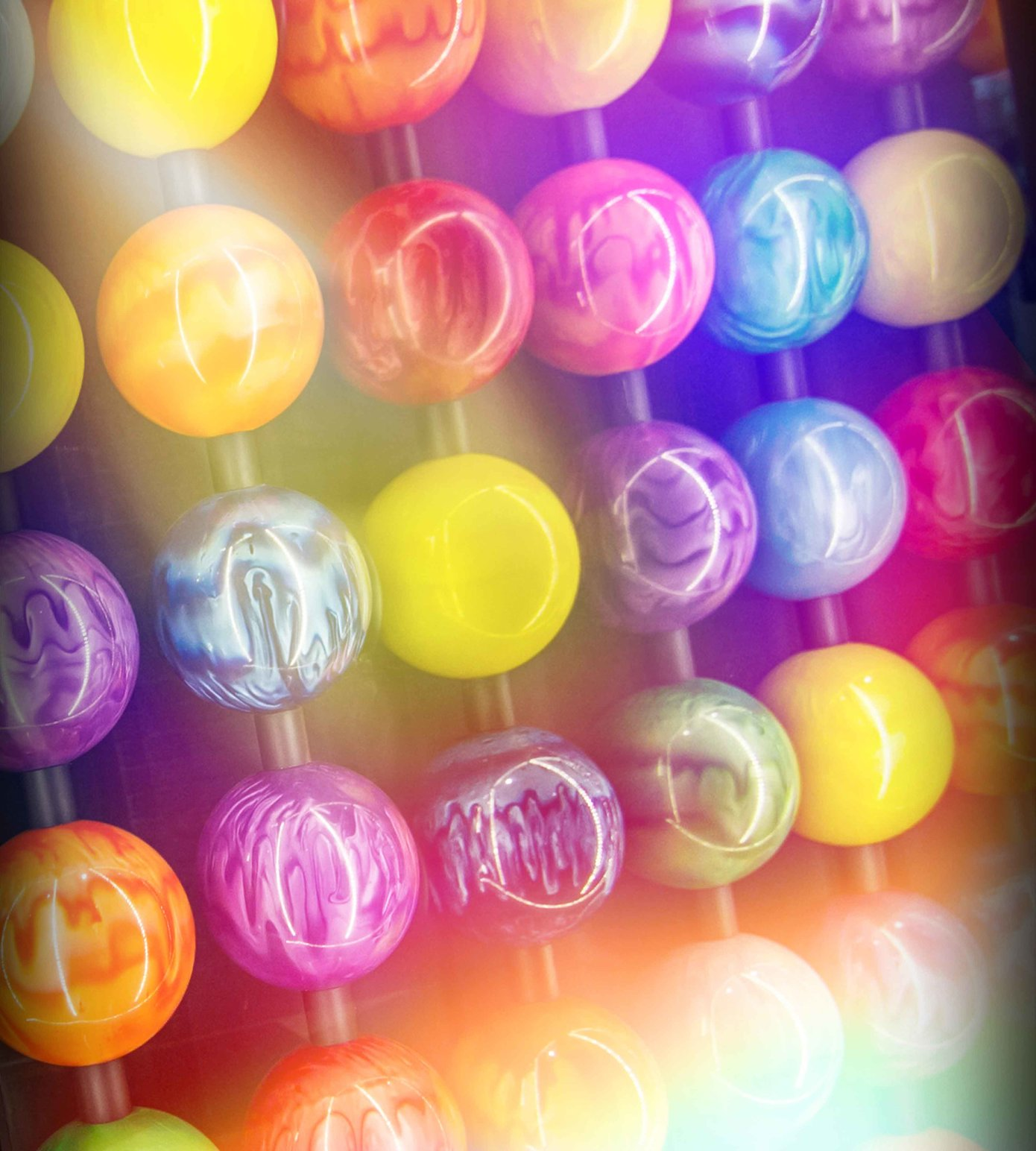 Bowling ball background